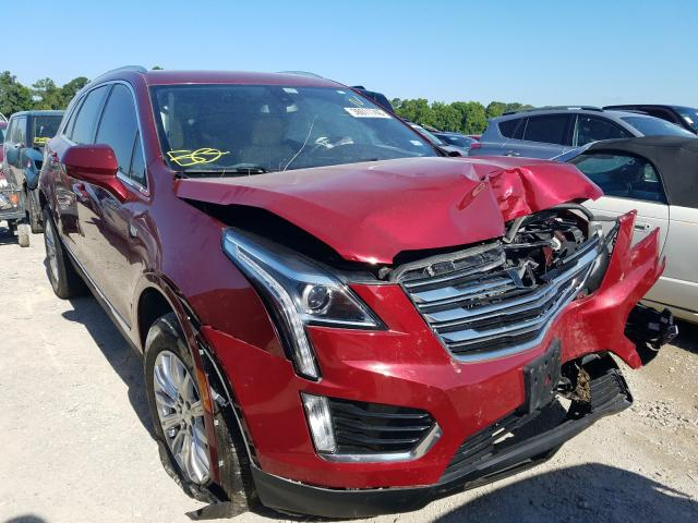 Cadillac XT5 salvage cars for sale: 2017 Cadillac XT5