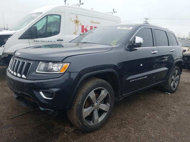 2014 JEEP GRAND CHER - Left Front View