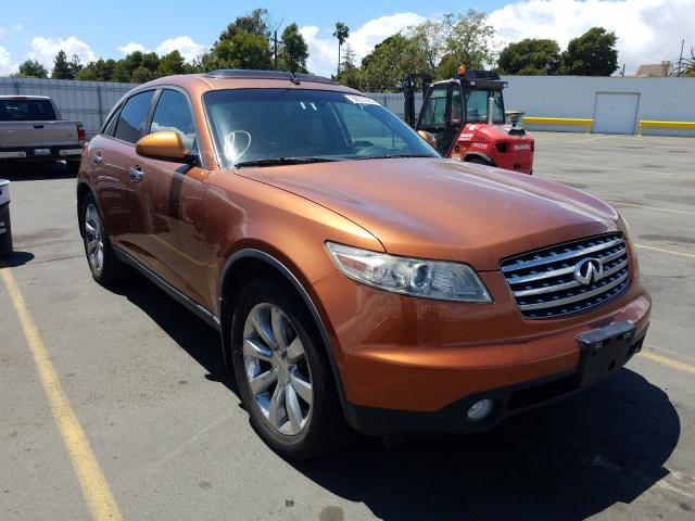 Infiniti FX45 salvage cars for sale: 2003 Infiniti FX45