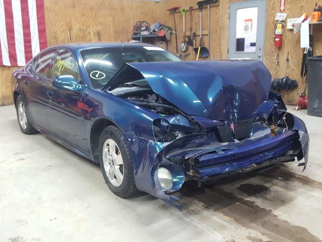 Salvage cars for sale from Copart Kincheloe, MI: 2005 Pontiac Grand Prix
