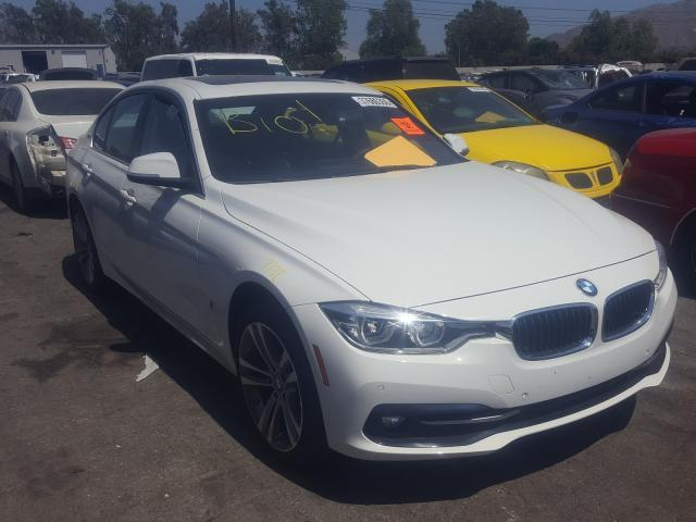 BMW 330E salvage cars for sale: 2017 BMW 330E