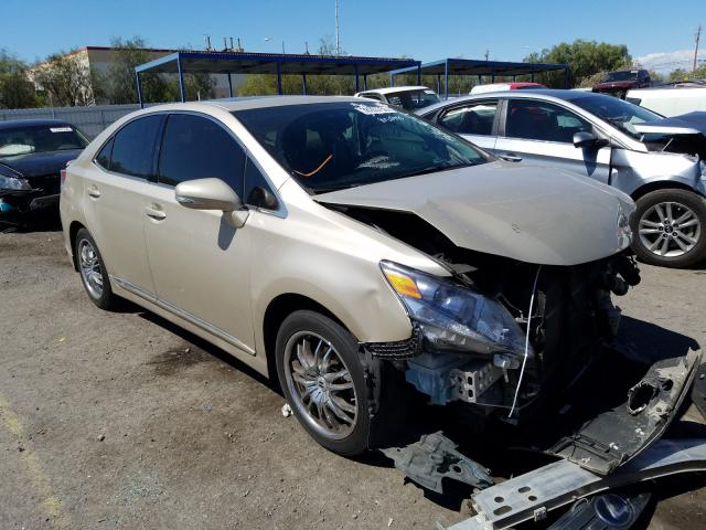 Lexus HS 250H salvage cars for sale: 2011 Lexus HS 250H