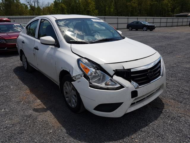 Salvage cars for sale from Copart York Haven, PA: 2016 Nissan Versa S