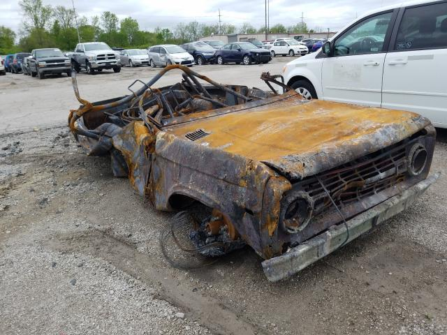 Ford Bronco salvage cars for sale: 1975 Ford Bronco