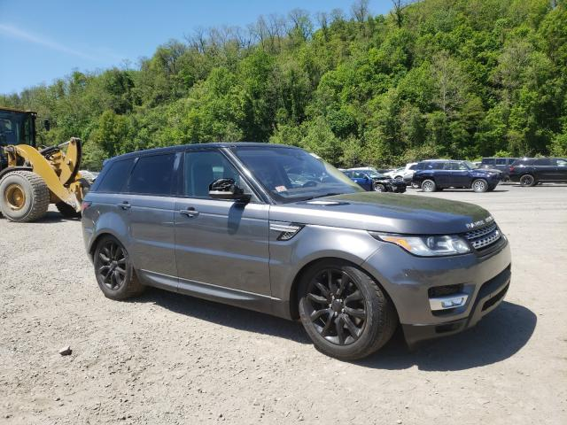 Salvage 2017 LAND ROVER RANGEROVER - Small image. Lot 38484280