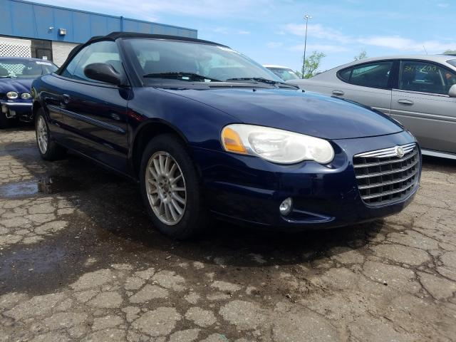 Salvage cars for sale from Copart Woodhaven, MI: 2006 Chrysler Sebring TO