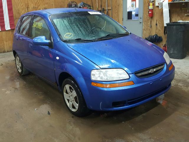 Salvage cars for sale from Copart Kincheloe, MI: 2008 Chevrolet Aveo Base