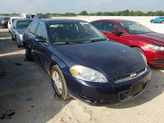 Salvage cars for sale from Copart San Antonio, TX: 2008 Chevrolet Impala LS