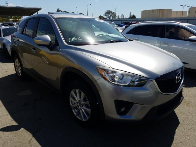 Mazda CX-5 Touring salvage cars for sale: 2014 Mazda CX-5 Touring