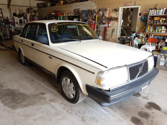 Volvo 240 salvage cars for sale: 1991 Volvo 240