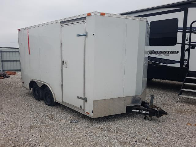 Trail King Enclosed salvage cars for sale: 2012 Trail King Enclosed