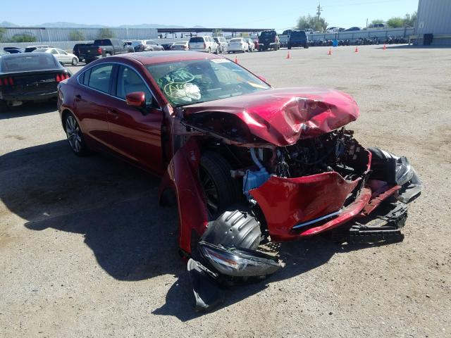 Salvage cars for sale from Copart Tucson, AZ: 2019 Mazda 6 Grand Touring