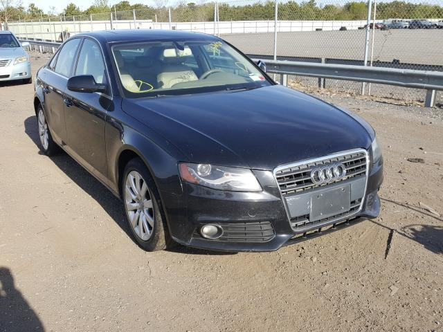 Audi A4 salvage cars for sale: 2010 Audi A4