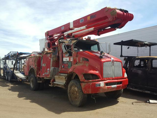 Salvage cars for sale from Copart Brighton, CO: 2016 Kenworth Construction