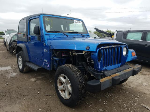 Jeep Wrangler C salvage cars for sale: 2003 Jeep Wrangler C