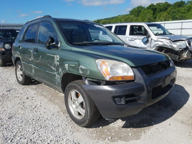 KIA salvage cars for sale: 2006 KIA New Sporta