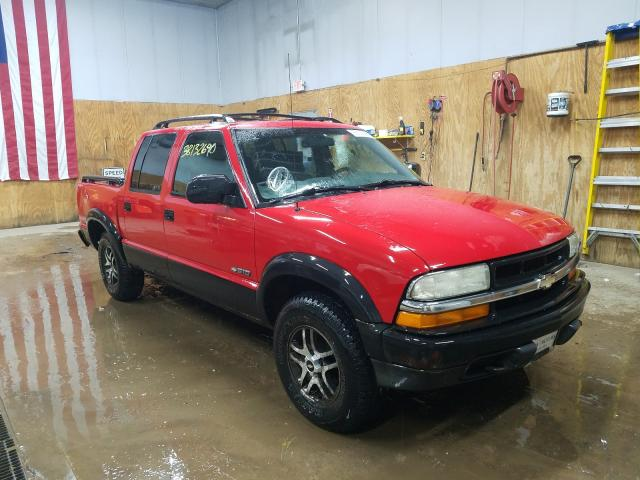 Chevrolet S Truck S1 salvage cars for sale: 2003 Chevrolet S Truck S1