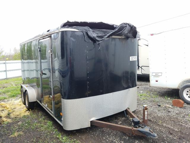 Haulmark Trailer salvage cars for sale: 2005 Haulmark Trailer