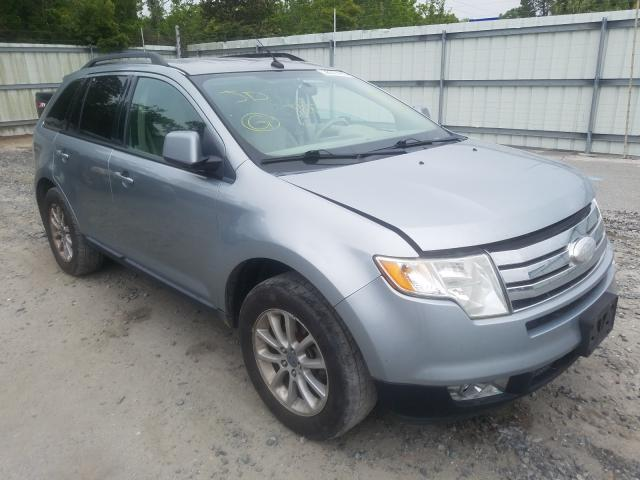 Ford Edge SEL salvage cars for sale: 2007 Ford Edge SEL