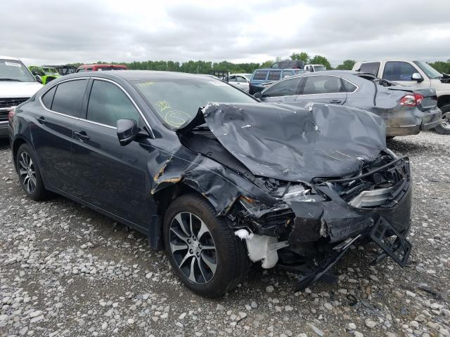 Acura salvage cars for sale: 2015 Acura TLX