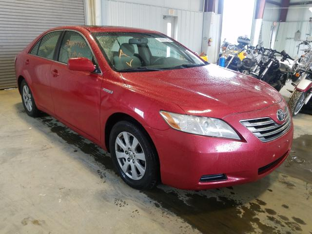 Salvage cars for sale from Copart Chatham, VA: 2007 Toyota Camry Hybrid