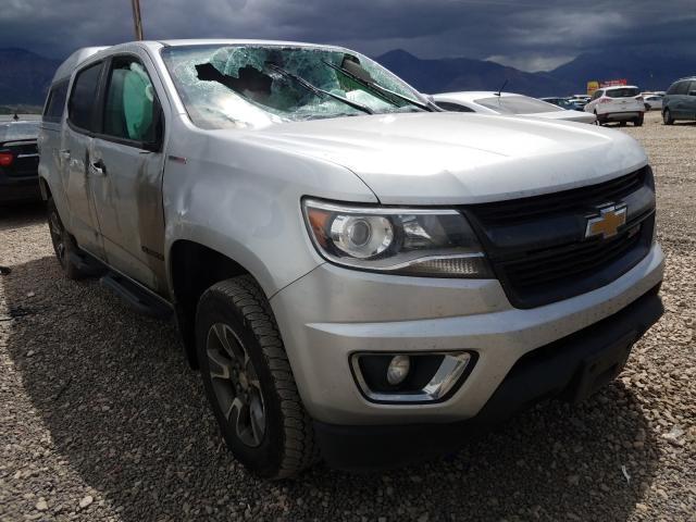 Salvage cars for sale from Copart Farr West, UT: 2018 Chevrolet Colorado Z