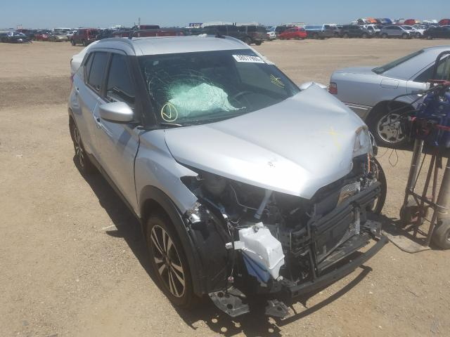 Nissan Kicks S salvage cars for sale: 2019 Nissan Kicks S