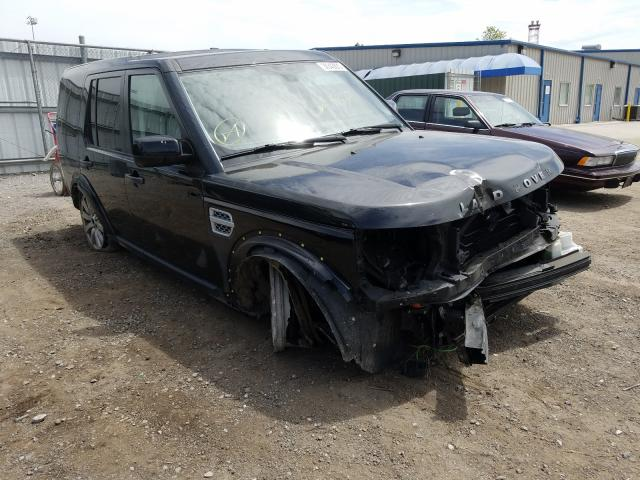 Land Rover salvage cars for sale: 2013 Land Rover LR4 HSE