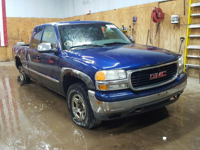 Salvage cars for sale from Copart Kincheloe, MI: 2001 GMC New Sierra
