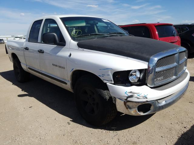 Dodge RAM 1500 salvage cars for sale: 2002 Dodge RAM 1500