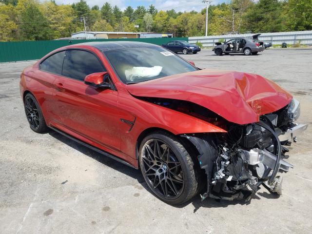 BMW M4 salvage cars for sale: 2019 BMW M4
