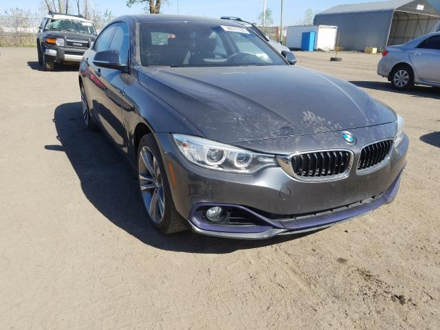 BMW 428 XI GRA salvage cars for sale: 2015 BMW 428 XI GRA
