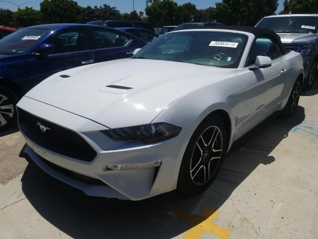 из сша 2019 FORD MUSTANG 1FATP8UH1K5149309