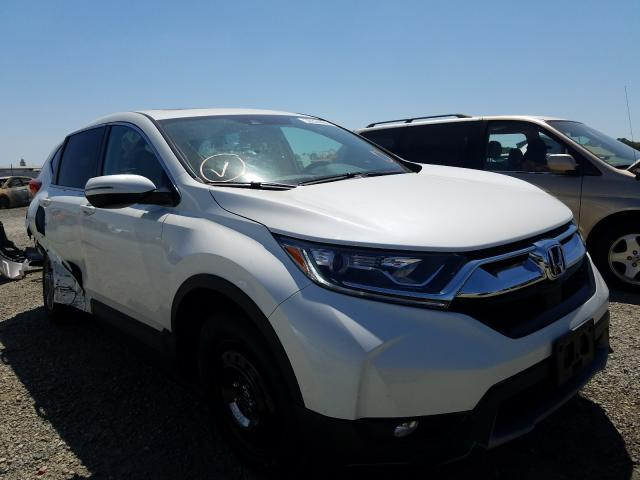 Honda CR-V EXL salvage cars for sale: 2018 Honda CR-V EXL