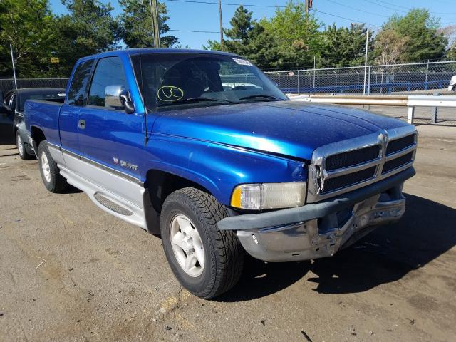 Dodge RAM 1500 salvage cars for sale: 1997 Dodge RAM 1500