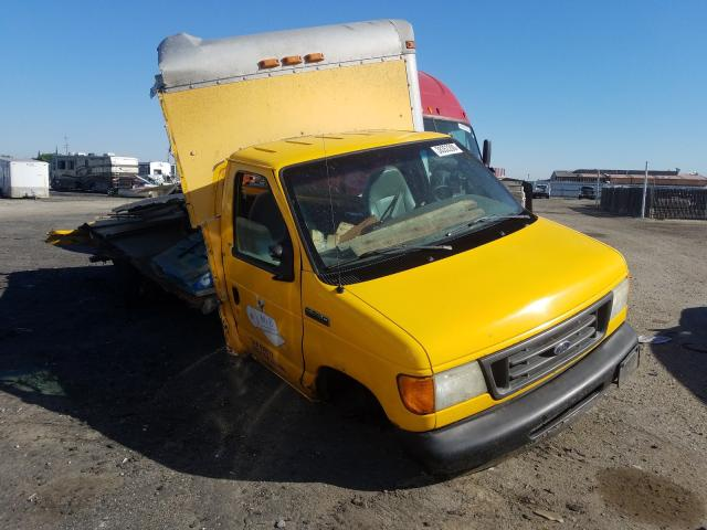Salvage cars for sale from Copart Bakersfield, CA: 2006 Ford Econoline