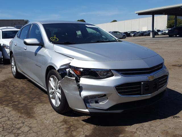 Salvage cars for sale from Copart Hayward, CA: 2018 Chevrolet Malibu LT
