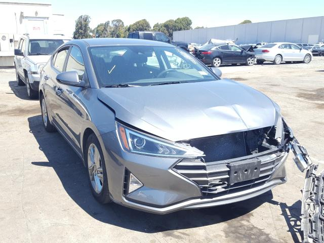 Salvage cars for sale from Copart Hayward, CA: 2019 Hyundai Elantra SE