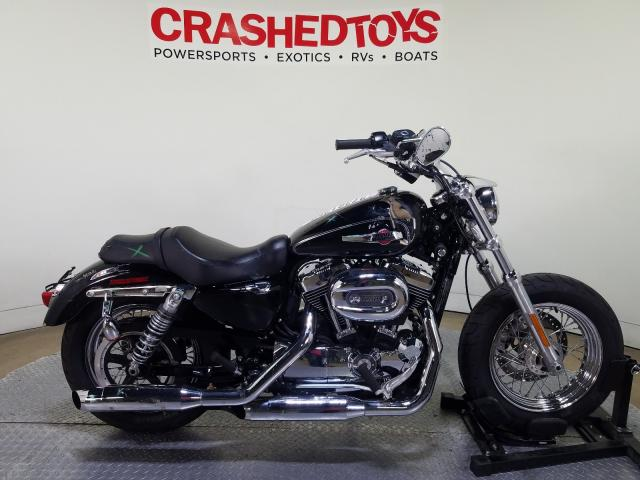 Harley-Davidson XL1200 C salvage cars for sale: 2017 Harley-Davidson XL1200 C