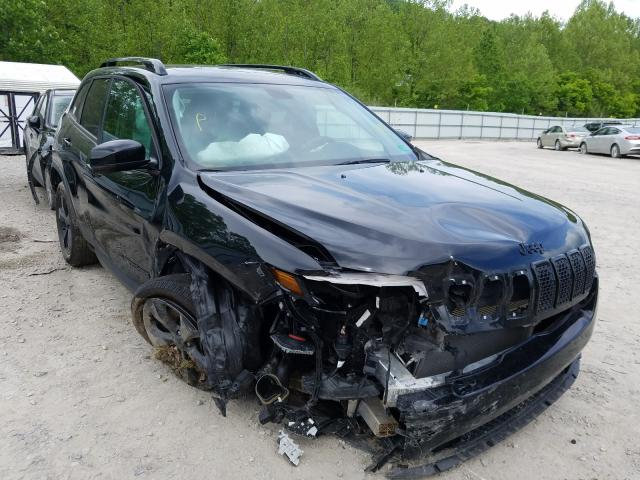 Jeep salvage cars for sale: 2019 Jeep Cherokee L