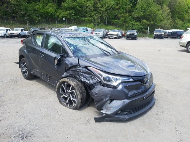 Toyota salvage cars for sale: 2018 Toyota C-HR XLE