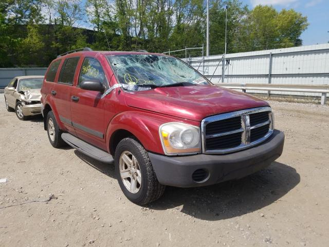 Dodge Durango SX salvage cars for sale: 2006 Dodge Durango SX