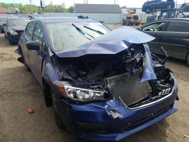 Subaru Impreza salvage cars for sale: 2017 Subaru Impreza