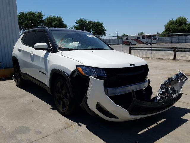 Jeep salvage cars for sale: 2019 Jeep Compass LA