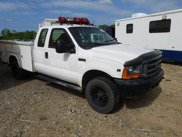 Salvage cars for sale from Copart Glassboro, NJ: 2000 Ford F350 SRW S