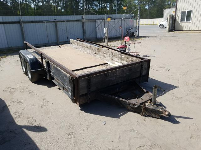 Utility Trailer salvage cars for sale: 2001 Utility Trailer