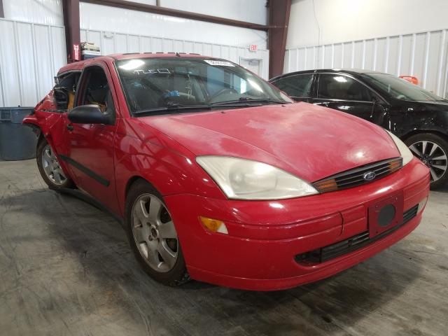 Ford Focus ZX3 salvage cars for sale: 2001 Ford Focus ZX3