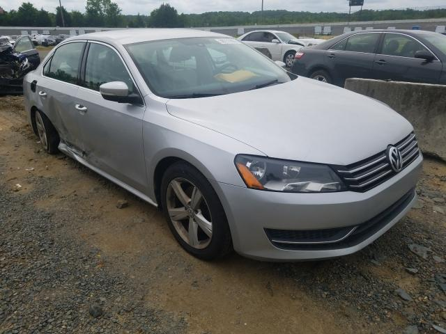 Salvage cars for sale from Copart Concord, NC: 2014 Volkswagen Passat SE