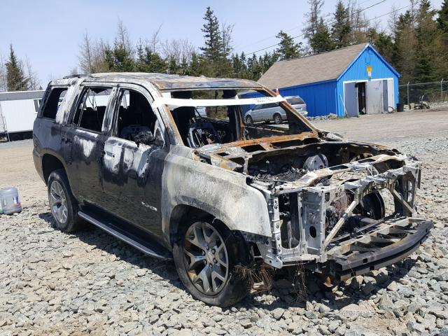 Salvage cars for sale from Copart Cow Bay, NS: 2019 GMC Yukon SLT