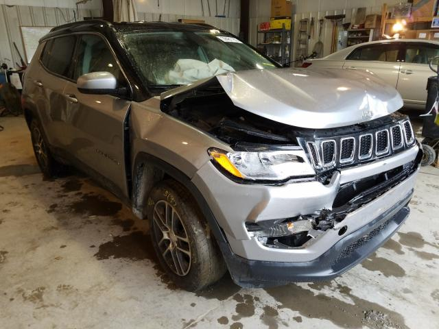Salvage cars for sale from Copart Duryea, PA: 2018 Jeep Compass LA